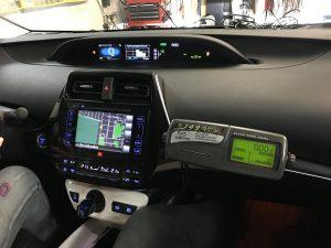 Przykład montażu taksometru Elite-Taxi